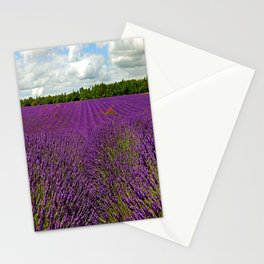 Lavender Landscape (Version 1)  Stationery Cards