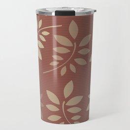 Scattered Leaves Travel Mug