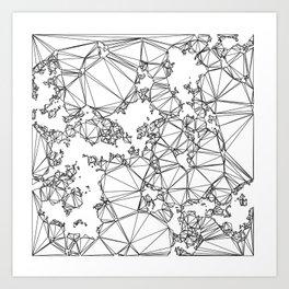 corina likes this one Art Print