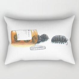 Pill bugs Rectangular Pillow