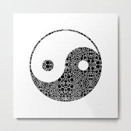 Perfect Balance 1 - Yin and Yang Stone Rock'd Art by Sharon Cummings Metal Print