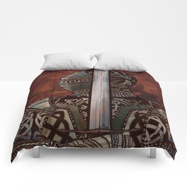 The Knotted Knight Comforters