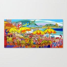Copacabana - Rio de Janeiro Canvas Print