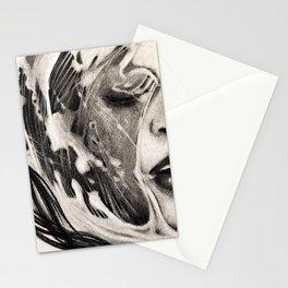 Mermaid for Apnea Stationery Cards
