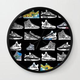 Seek the Sneakers Wall Clock