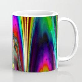 colorful marbled Lasershow Coffee Mug