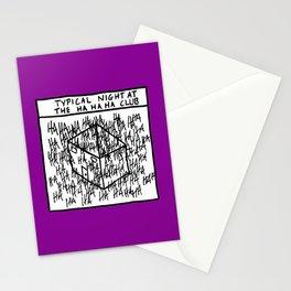 HA HA HA CLUB Stationery Cards