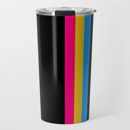 Pansexuality in Shapes Travel Mug