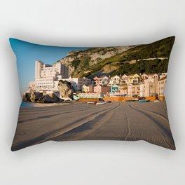 Catalan Bay, Gibraltar Rectangular Pillow