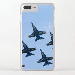 Blue Angels in Seattle Clear iPhone Case