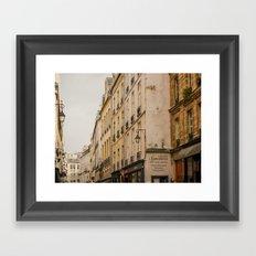 Paris streets I Framed Art Print