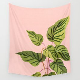 Upstart / Tropical Plant Wall Tapestry