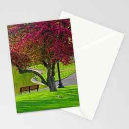 The park  Stationery Cards