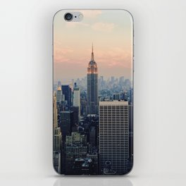 New York at Dusk iPhone Skin