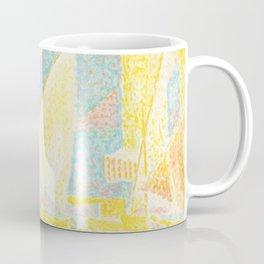 """Paul Signac """"St. Tropez The Port (Saint-Tropez Le port)"""" Coffee Mug"""