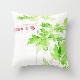 Left Dangling Throw Pillow
