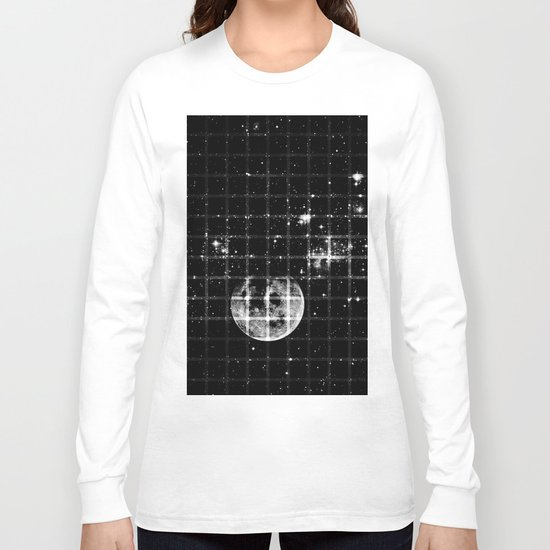 Space texture Long Sleeve T-shirt