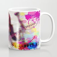 scandal Mugs featuring Scandal Baby by Don Kuing