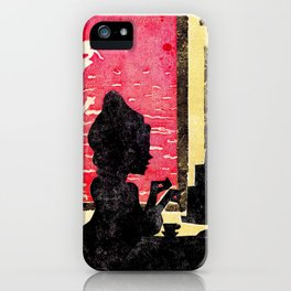 High Water at the Cafè iPhone Case