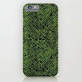 Simple Promise Neon Green 0316 iPhone Case
