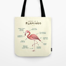 Anatomy of a Flamingo Tote Bag