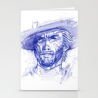 clint barton Stationery Cards featuring Clint by MOK designz