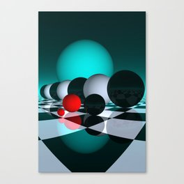 3 colors for your wall -6- Canvas Print