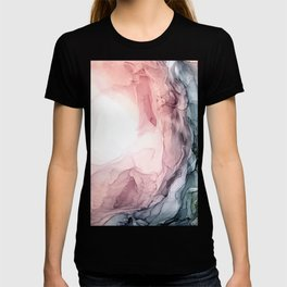 Blush and Blue Dream 1: Original painting T-shirt