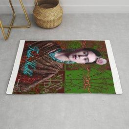 Frida Kahlo - Viva La Vida (Ver 3.2) Rug