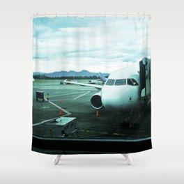 El Dorado Airport. Shower Curtain