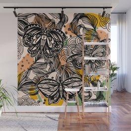 Lovely wings Wall Mural