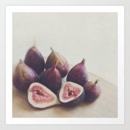 Fig print. A Little Figgy Art Print