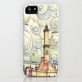 La Lanterna iPhone Case