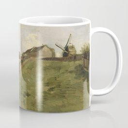 The hill of Montmartre with Stone Quarry Coffee Mug