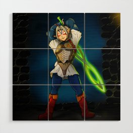 A Link to the Oni Wood Wall Art