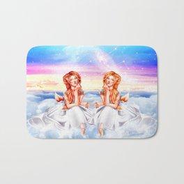 Gemini OC - 12 Zodiac Ladies Bath Mat