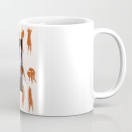 Orange dancer Coffee Mug