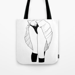 WATCH YOUR BACK Tote Bag