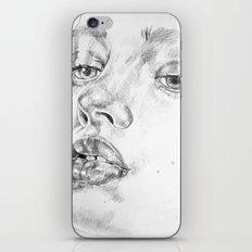 Colored Pencil Portrait iPhone & iPod Skin