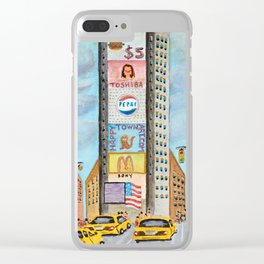 One Times Square Clear iPhone Case