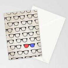 3D Hipster Stationery Cards