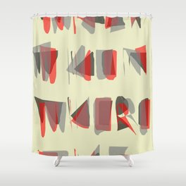GIMME ALL THE DETAILS Shower Curtain