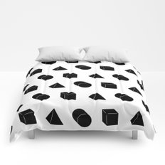 Shapes Pattern Comforters