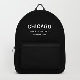 Chicago - IL, USA (Black Arc) Backpack
