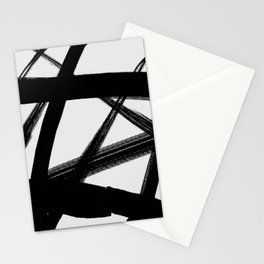 A Shadow Beam - Abstract Paint Stationery Cards