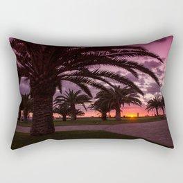 Meloneras sunset walk Rectangular Pillow
