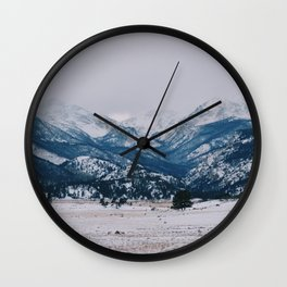 Lonely valley Wall Clock