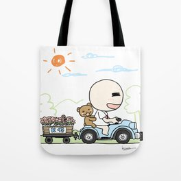 K Young-Outing(1) Tote Bag