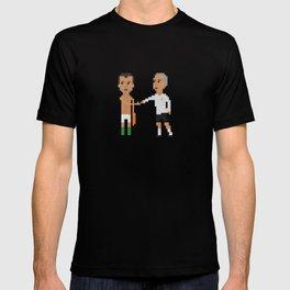Roy Keane / Mick McCarthy handshake T-shirt
