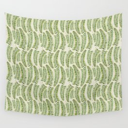 Palm leaves in tiger print Wall Tapestry